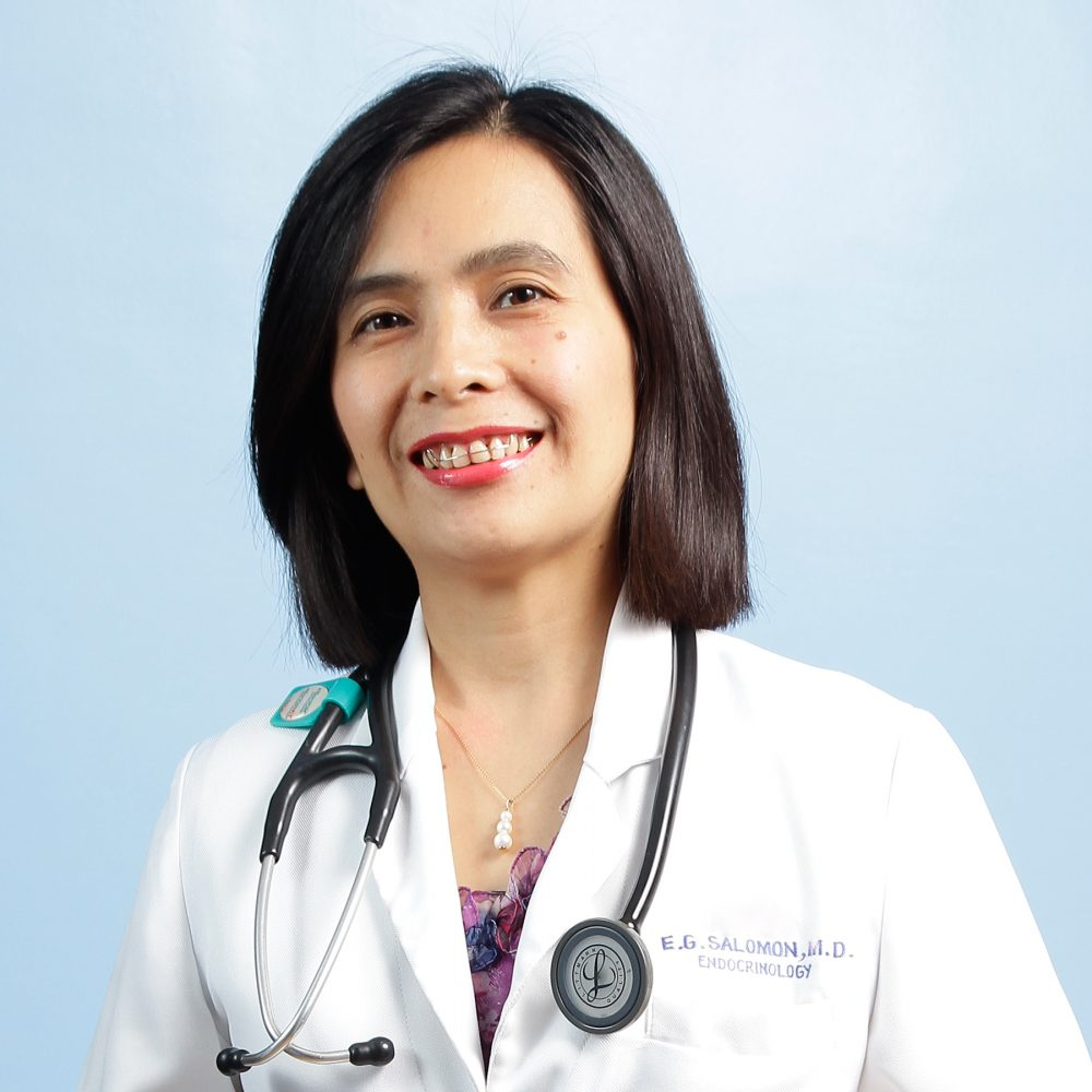 Eddelyn G. Salomon, MD, FPCP, FPSEDM Image