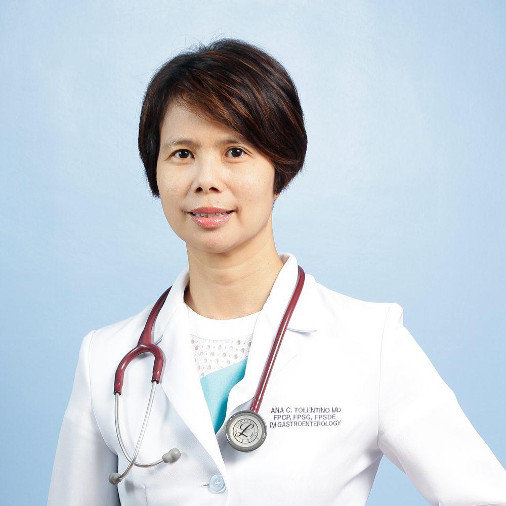 Ma. Ana C. Tolentino, MD, FPCP, FPSG, FPSDE Image