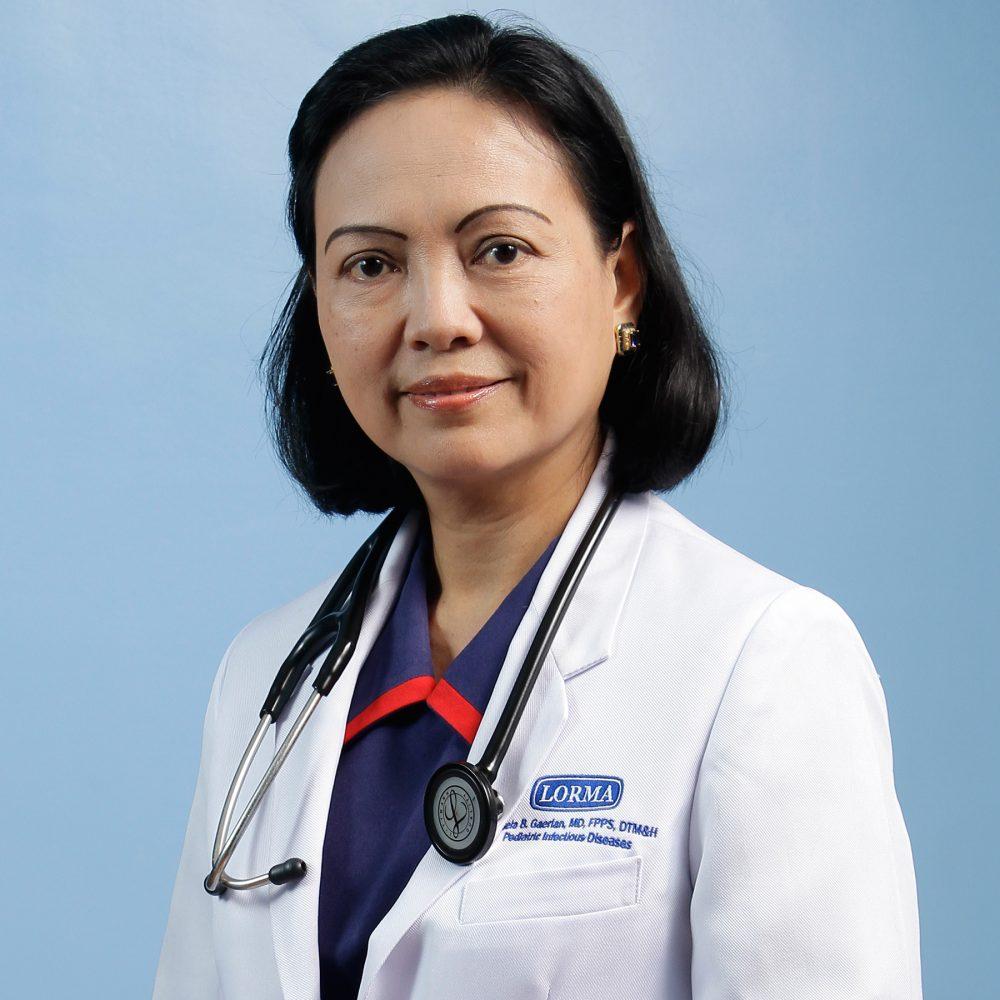 Jeisela B. Gaerlan, MD, FPPS, DTM&H Image