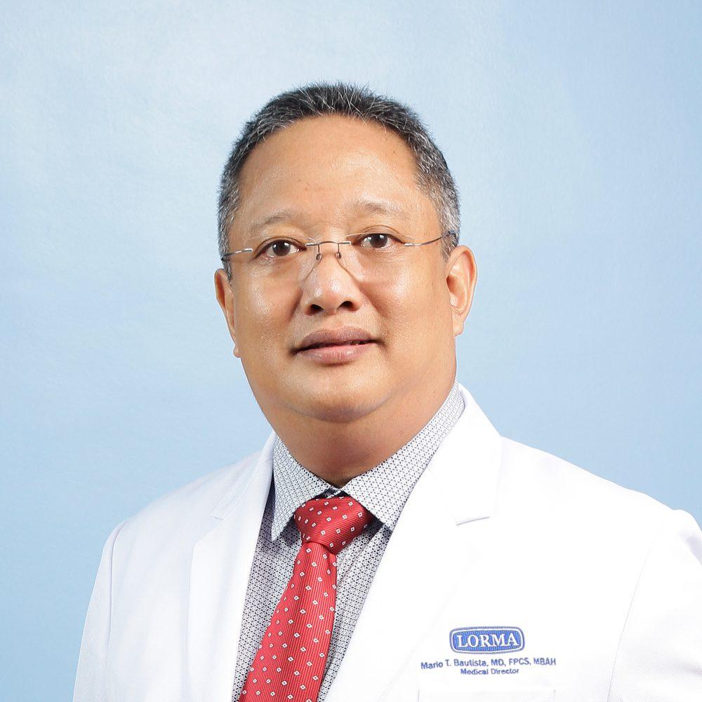 Mario T. Bautista, MD, FPALES, FPCS, FPSGS Image
