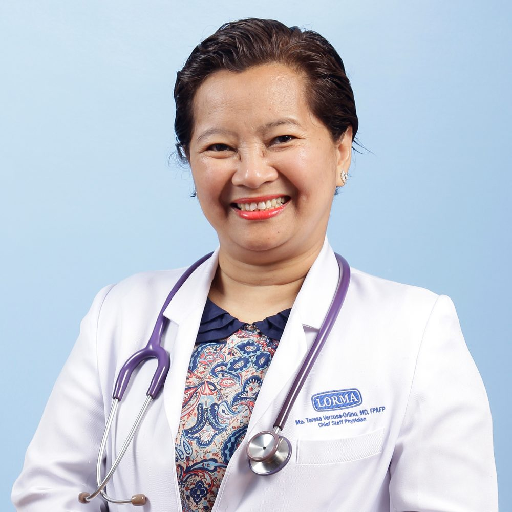 Ma. Teresa V. Orlino, MD, DFM, FPAFP Image