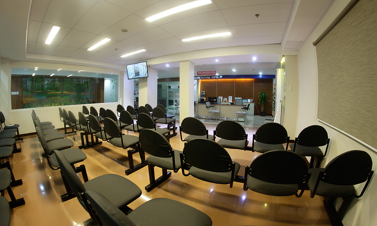 OPD 3 - Patient's Waiting Area at present