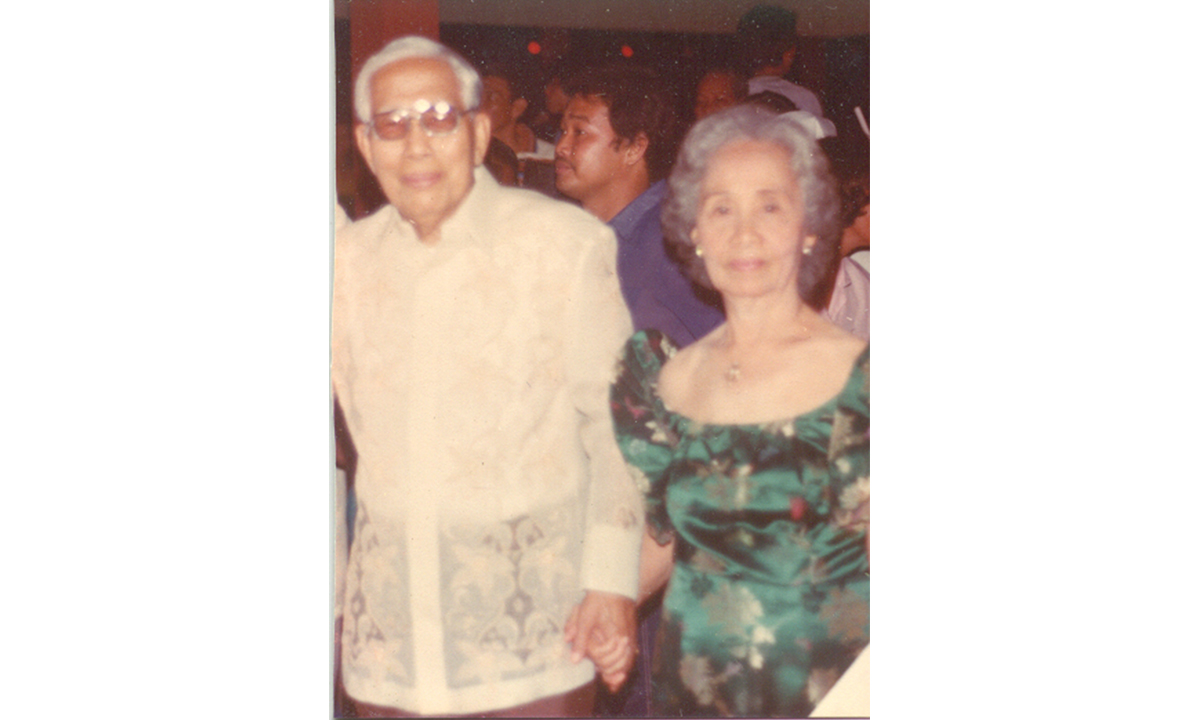 OLDER YEARS of Dr. Rufino N. Macagba, Sr. and Dr. Crispina Lorenzana Macagba